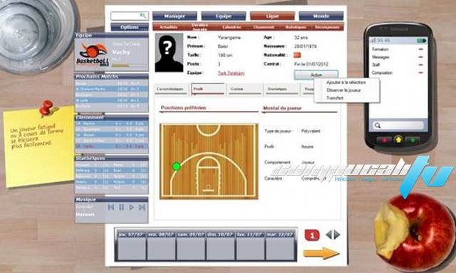 Basketball Pro Management PC Full Ingles