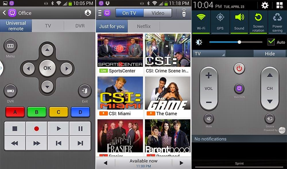 Setting WatchOn Android Untuk Remote TV