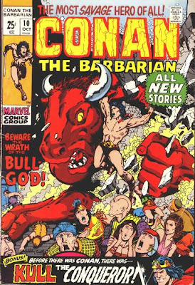 Conan the Barbarian #10, Barry Smith, the Bull God