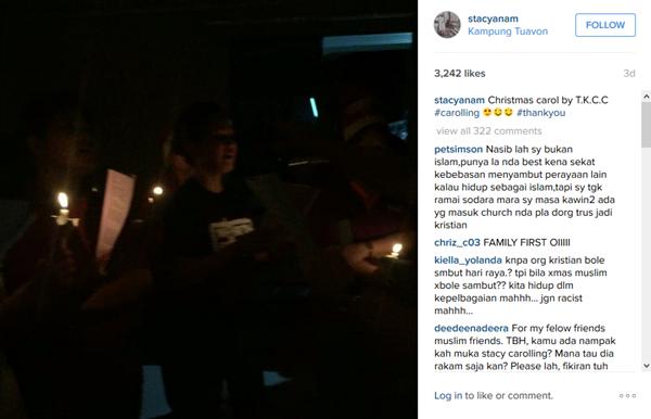 PANAS! Video Stacy Di Laman Instagram Dikecam Netizen