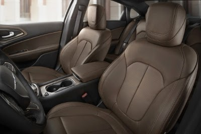 2015 Chrysler 200S Features Two New Interior Colors