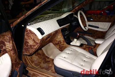Gambar Mobil Batik