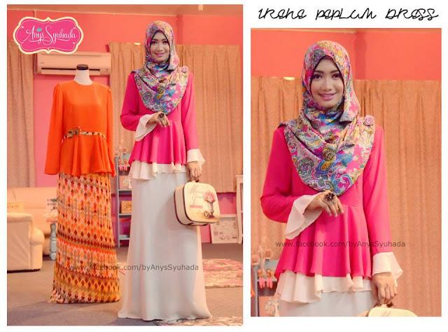 Fashion : Inspire new style baju raya / baju kurung 2013. *minniemouse ...