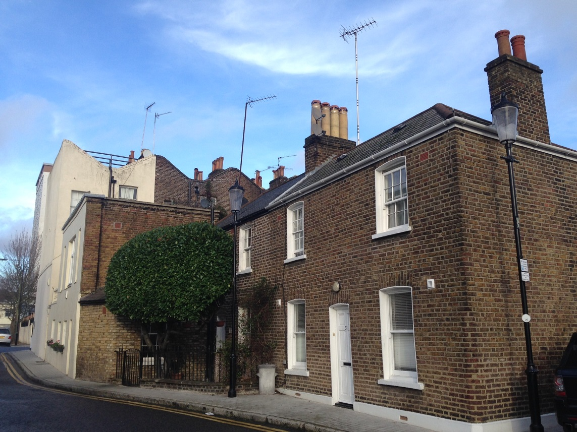 Old house, Norland Road, London