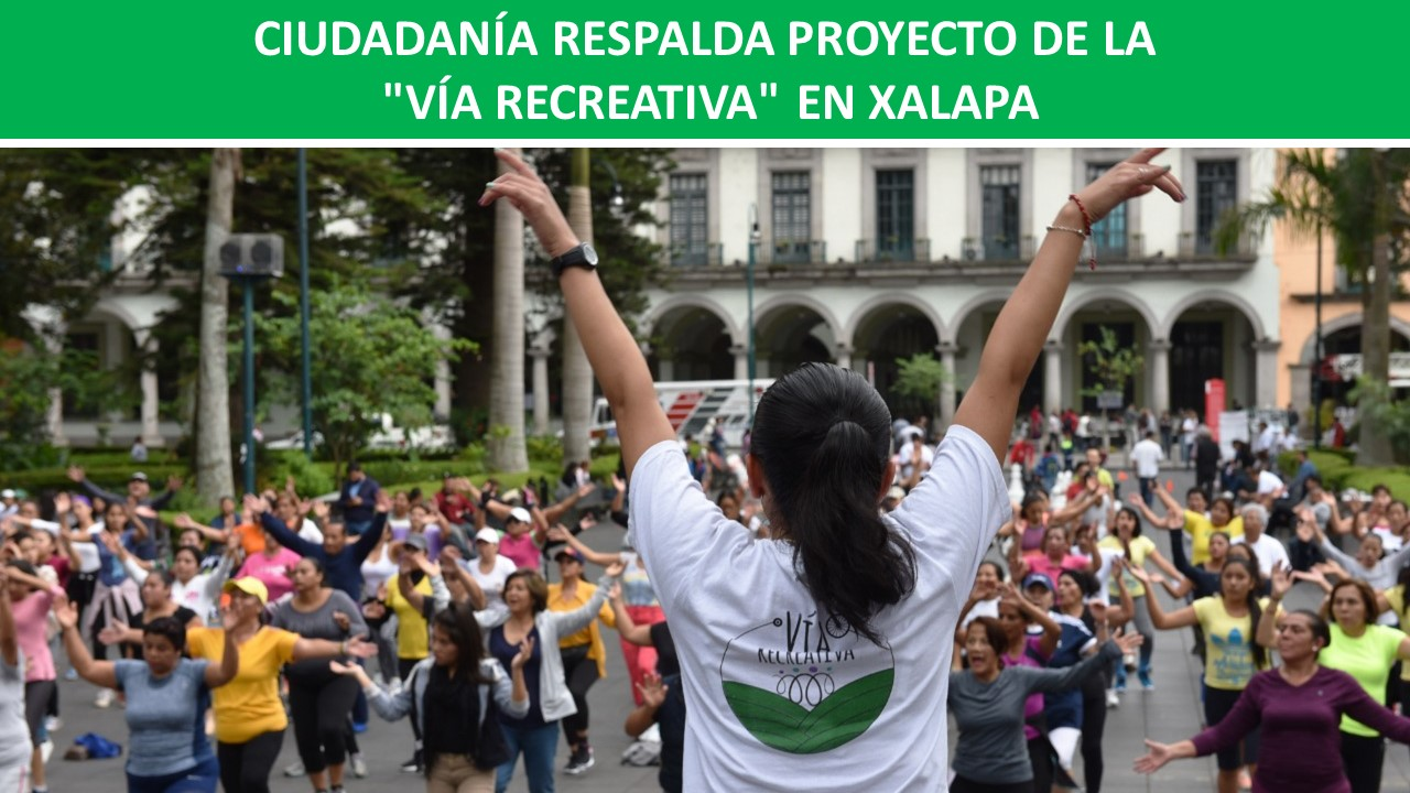 """VÍA RECREATIVA"" EN XALAPA"