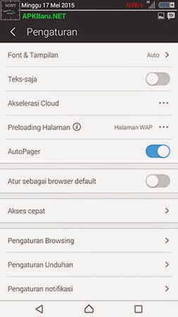 uc browser android apk terbaru