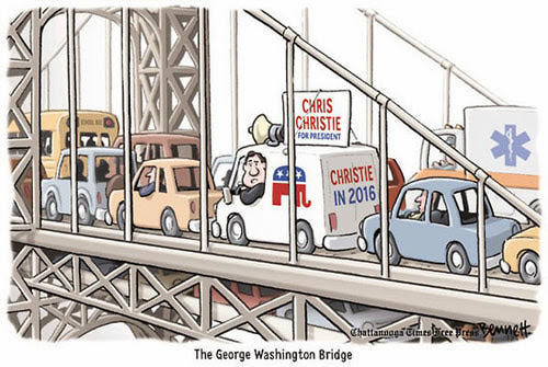 Christie 2016 -- Stuck in Traffic