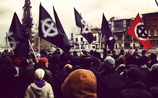 Русский Марш 2012, НС колонна. Кельтские кресты