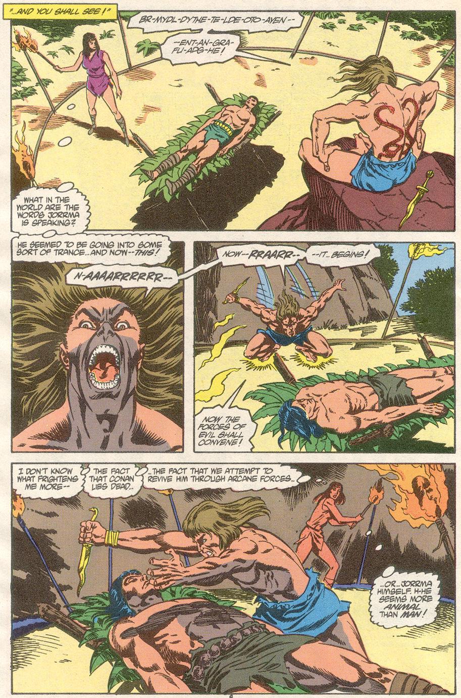 Conan the Barbarian (1970) Issue #239 #251 - English 6