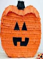 Piñata, Calabaza, Pumpkin, Tutorial, Manualidades, Crafts