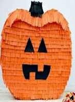 Piñata, Calabaza, Pumpkin, Tutorial, Manualidades, Crafts