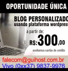 Crie seu blog também!