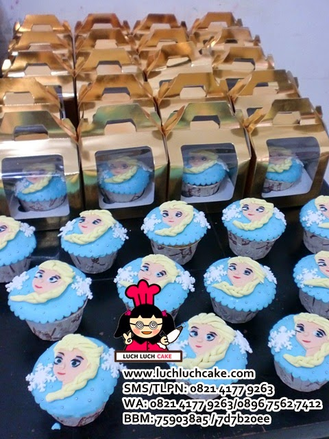 souvenir cupcake princess elsa