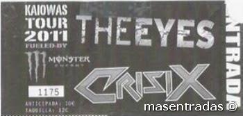 entrada de concierto de crisix
