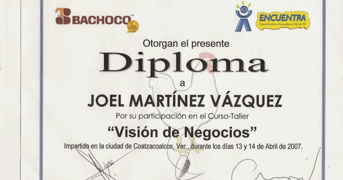 formatos de diplomas de honor