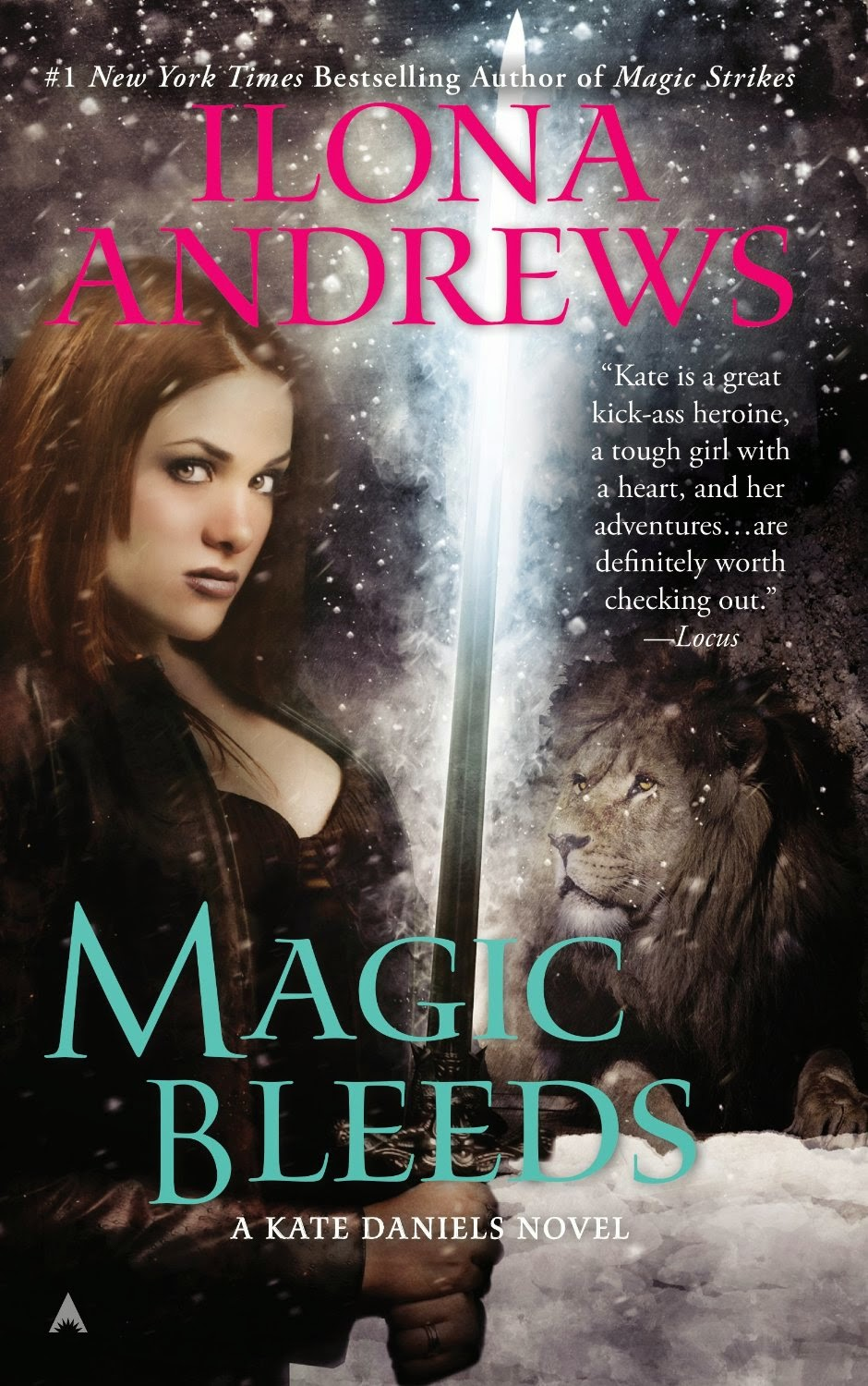 Book Review: Magic Bleeds (Kate Daniels, Book 4), by Ilona Andrews