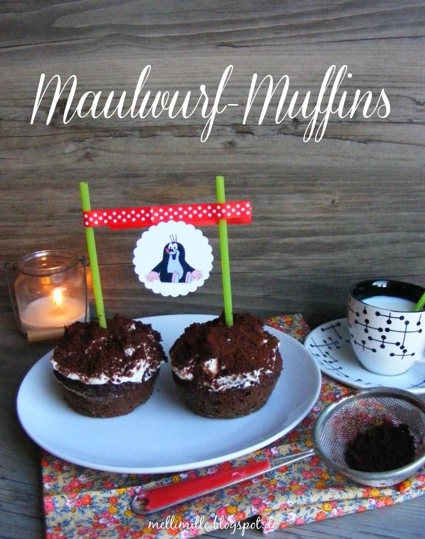 mellimille leckere maulwurf muffins und ein buch das. Black Bedroom Furniture Sets. Home Design Ideas