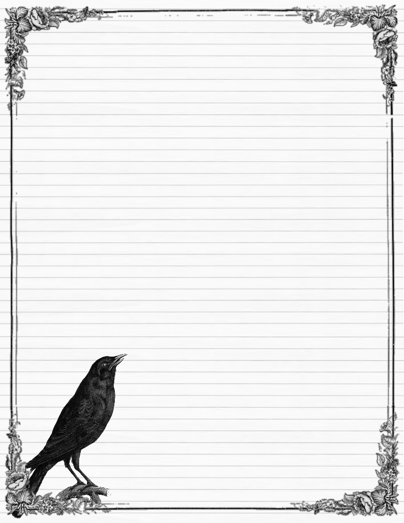This is an image of Handy Free Printable Stationary With Lines and Borders