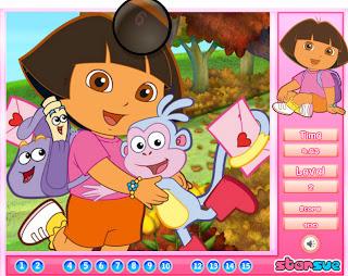 dora puzzle games