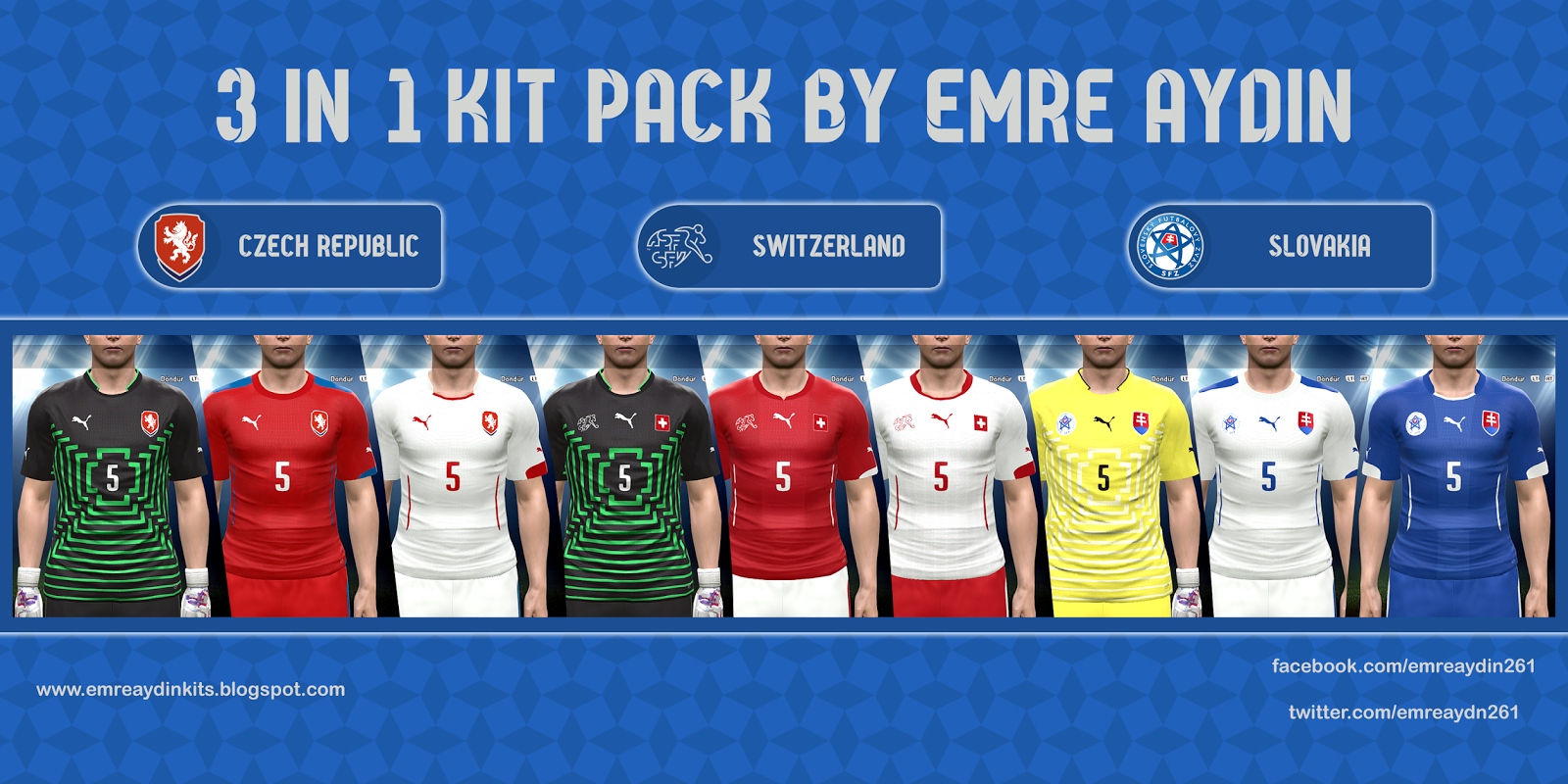 PES 2015 3 In 1 Kit Pack by Emre Aydin