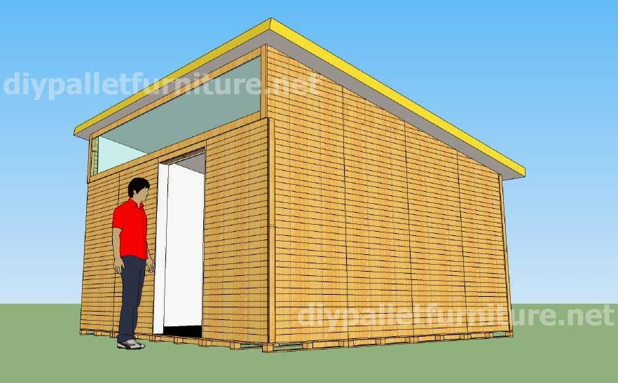 Casa - Casas con palets de madera ...