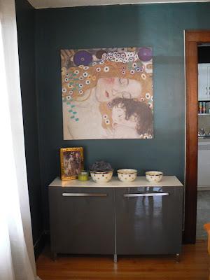 mylittlehousedesign.com gustav klimt wall art
