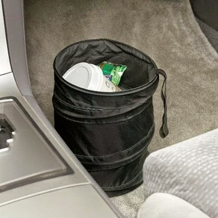 Car Trash Can :: OrganizingMadeFun.com