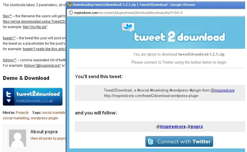 twitter scaricare tweet