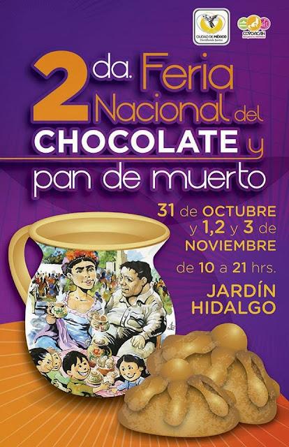 2da Feria Nacional del Chocolate y Pan de Muerto