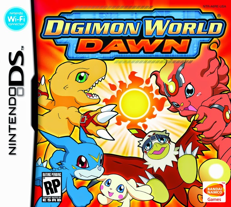 Digimon World Dawn (Nintendo DS) (Español)