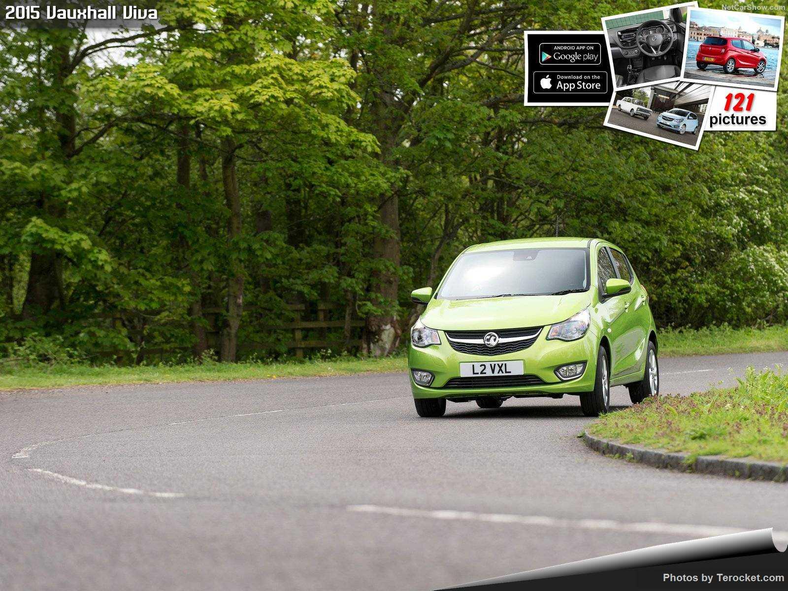 Hình ảnh xe ô tô Vauxhall Viva 2015 & nội ngoại thất