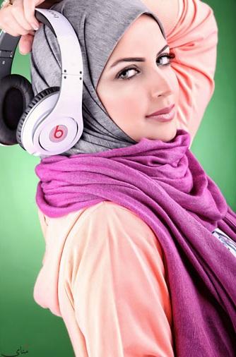 hijab accessoire avec