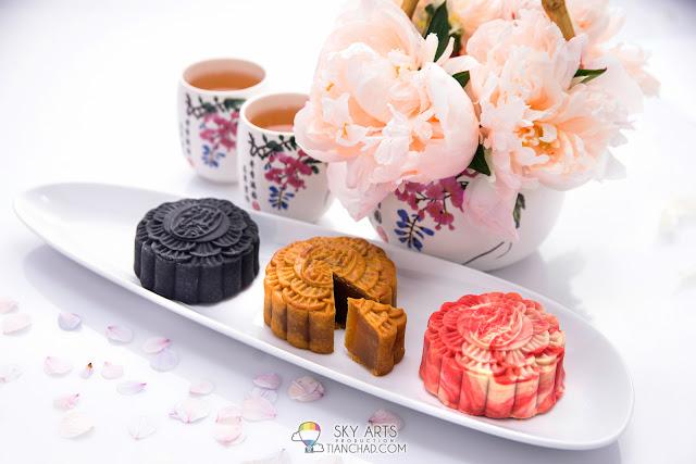 Special handmade mooncake by Intercontinental Kuala Lumpur's award winning Tao Chinese Cuisine