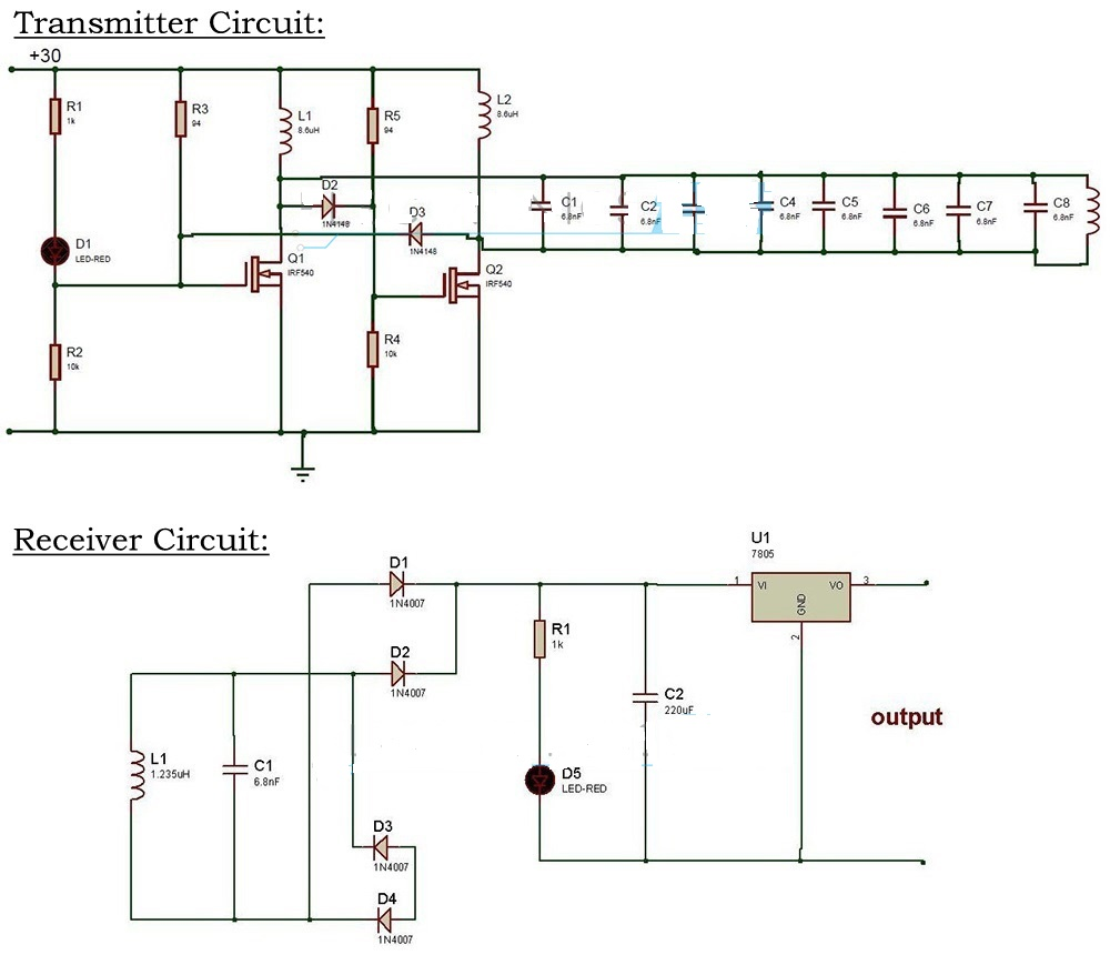 Minor Projects For Engineering Students July 2015 Sensor Circuits Archives Page 2 Of Gadgetronicx Wireless Power Transfer Circuit Diagram