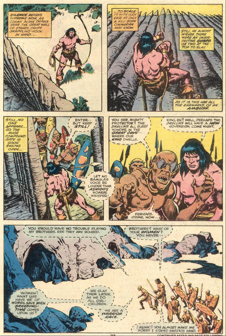 Conan the Barbarian (1970) Issue #102 #114 - English 14