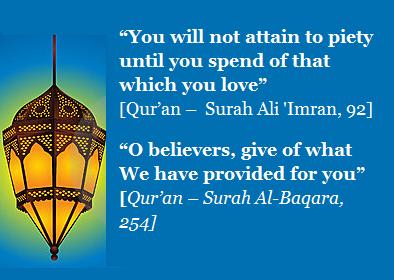 hadith on charity
