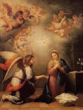 Santíssima Virgem e o anjo