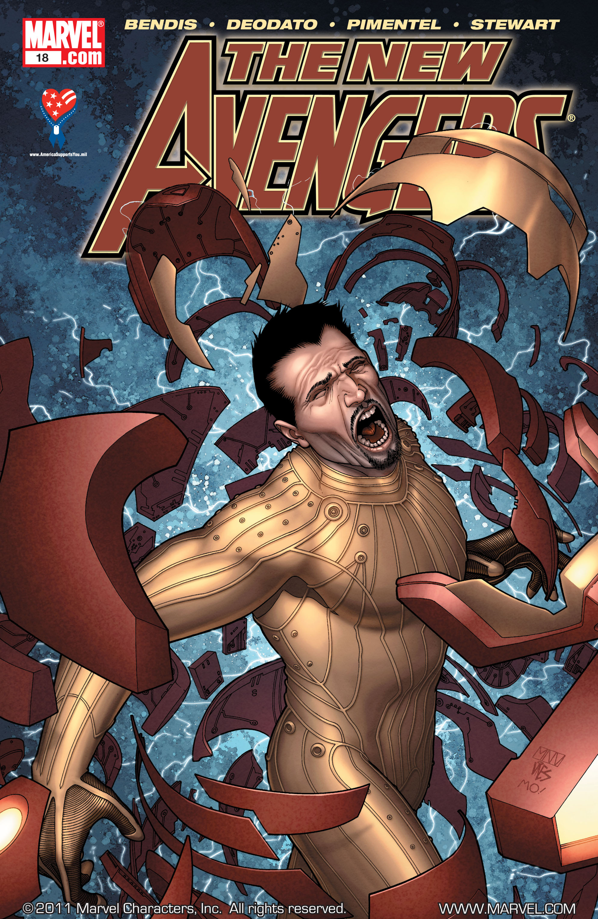 New Avengers (2005) issue 18 - Page 1