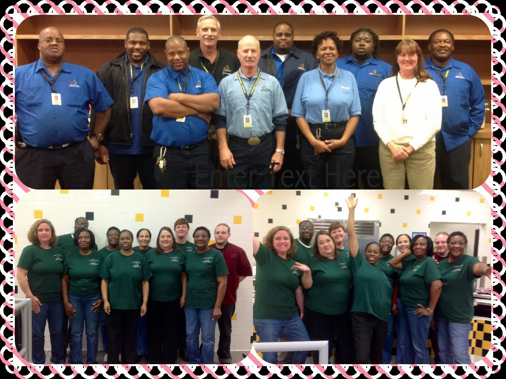 Cafeteria Workers Appreciation Day 2015