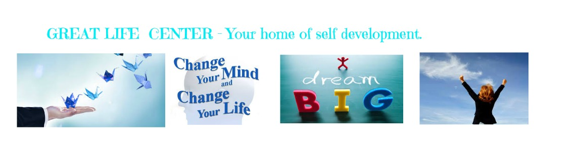 GREAT LIFE CENTER - GLC: Your home of self development.