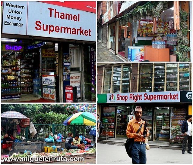 Supermercados-Thamel-Katmandu