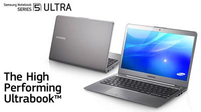 Samsung New Series 5 Ultrabook