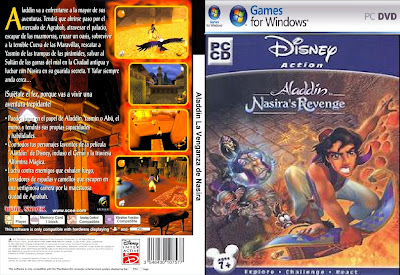 Aladdin In Nasira's Revenge PC DVD Capa