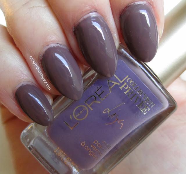 L'Oreal Collection Privee Liya Nude #630, nail polish, swatch