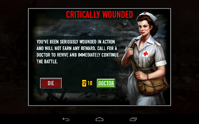 Frontline Commando: Wounded? no worries help is available