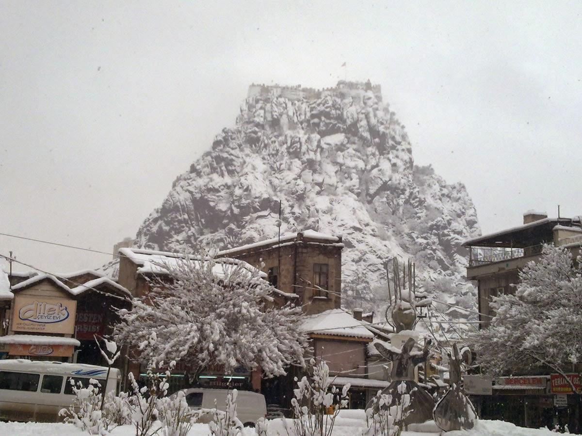 Afyonkarahisar Kalesi Kış