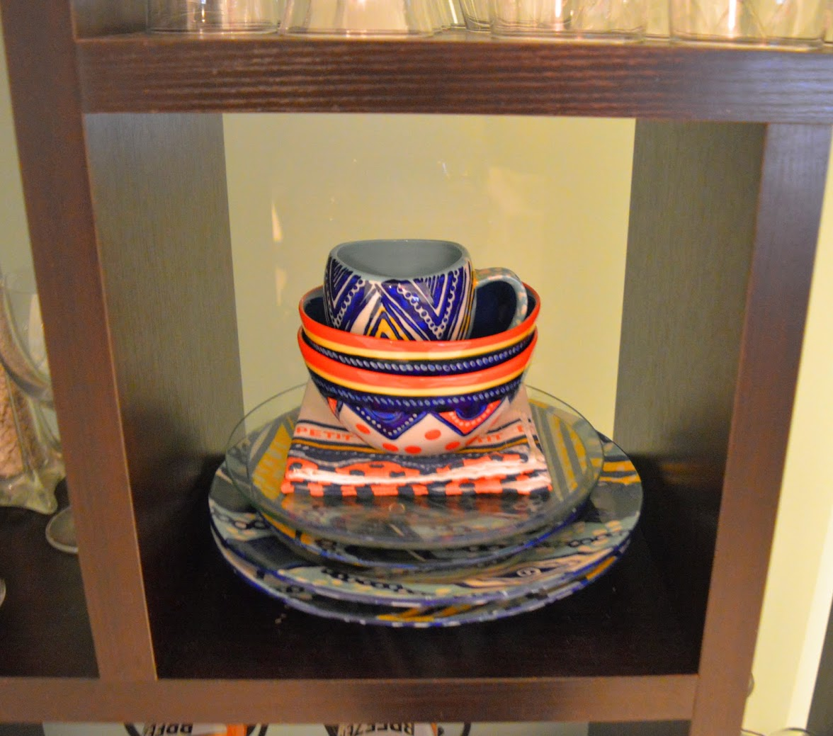 African Print Dinnerware Set Anthropologie & The AfroFusion Spot: Interior Design: Adding African Art to Your ...