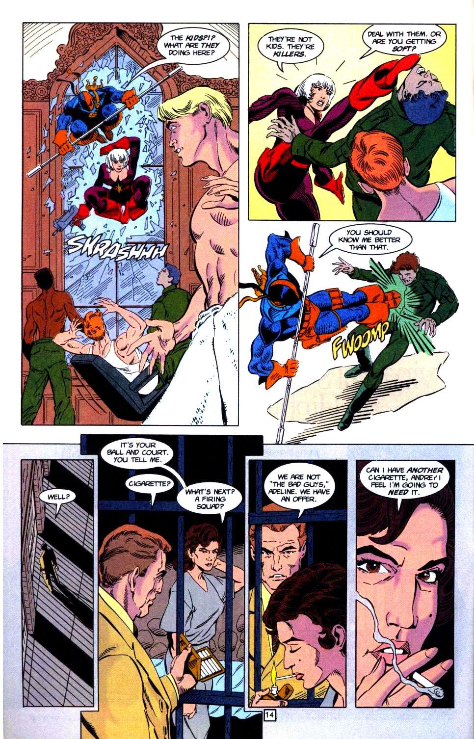 Deathstroke (1991) Issue #32 #37 - English 15