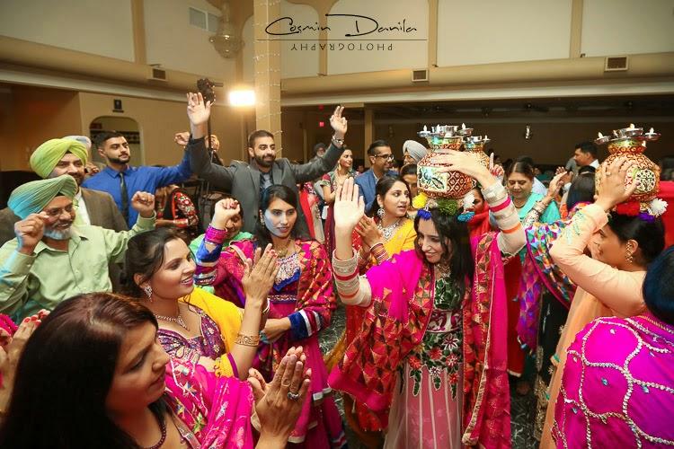 Mehndi Party N Wedding : Zenia paul punjabi wedding rituals lots of them