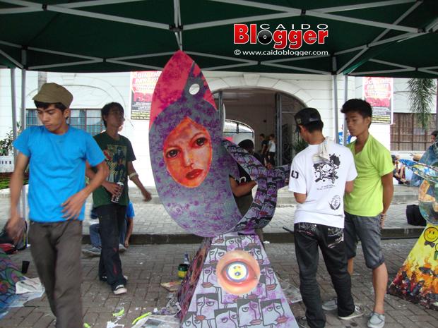 Dagupan City Bangus Festival 2012 Bangus Sculpture